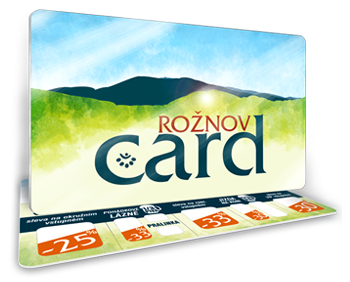 Karta hosta Rožnov card